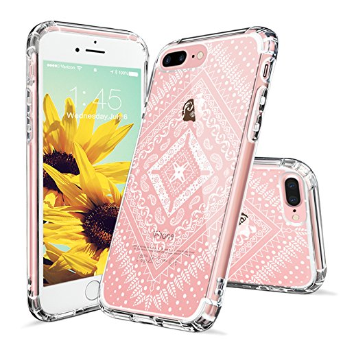 iPhone MOSNOVO Printed Transparent Protective