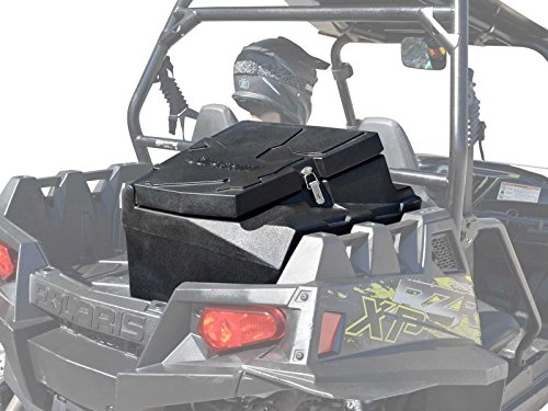 SuperATV Rear Water Resistant Cargo/Storage Box for Polaris RZR XP 900 (2011-2014) Easy to Install!