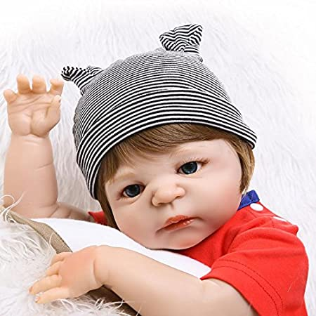 Amazon.com: NPK collection Reborn Baby Doll Full Silicone ...