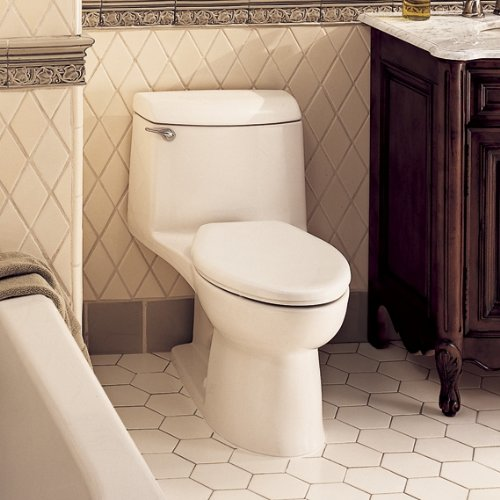 American Standard 2004.014.021 Champion-4 Elongated One-Piece Toilet, Bone by American Standard (Image #2)