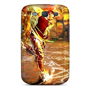 New Design Shatterproof NKYZH2554MoAFE Case For Galaxy S3 (music)