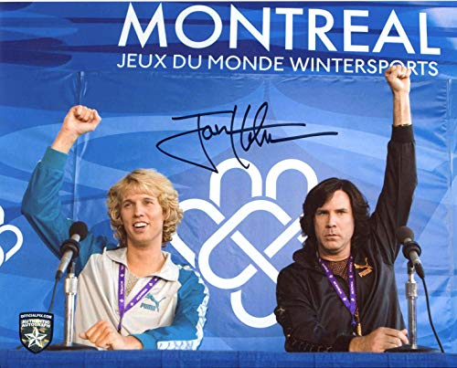 Jon Heder Signed/Autographed Blades of Glory 8x10 Glossy Photo As Jimmy MacElroy, Includes Official Pix Certification and Cataloged Number. Entertainment Autograph Original. Will Ferrell -