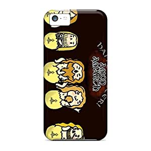 High Quality Mobile Covers For Iphone 5c With Allow Personal Design HD Amon Amarth Band Pattern CharlesPoirier