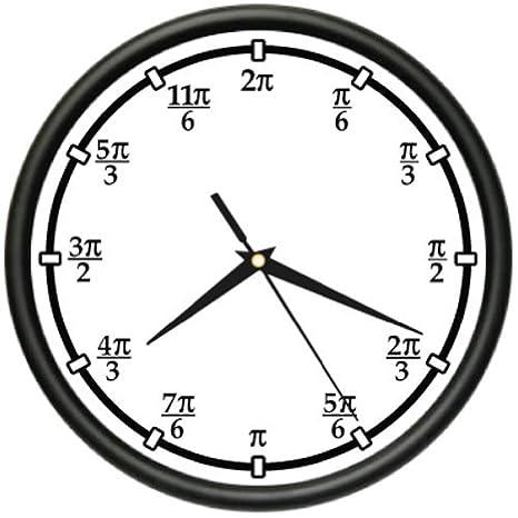 Amazon.com: PI reloj de pared Profesor Professor Matemáticas ...