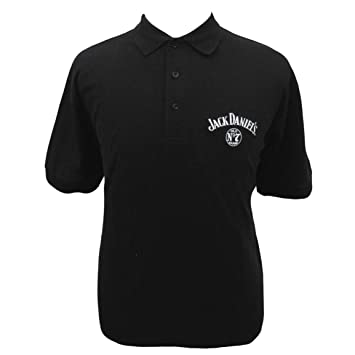 Jack Daniels Embroidered Golf Shirt Polo-medium Black at Amazon ... e24d9a0f04