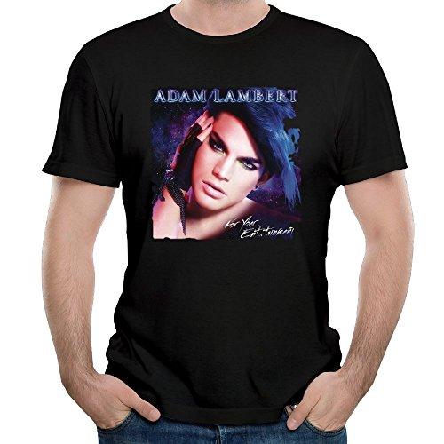 Ulongpoq Men's Adam Lambert for Your Entertainment Cotton