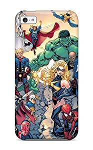 TYH - Hard Plastic ipod Touch 4 Case Back Cover,hot Marvel Case At Perfect Diy phone case