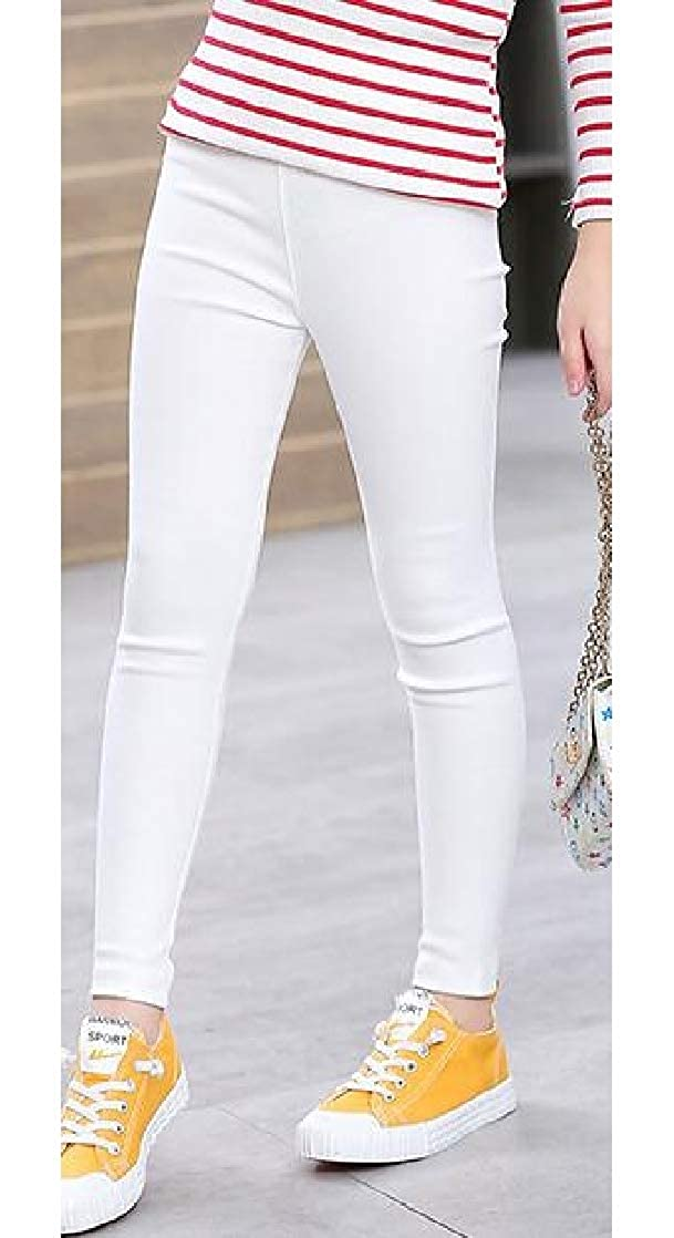Joe Wenko Girl Slim Woven Stretchy Fashion Pants Pencil Legging