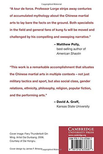 Chinese Martial Arts: From Antiquity to the Twenty-First Century by Cambridge University Press