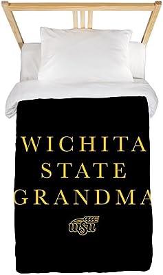 CafePress Wichita State Grandma Twin Duvet Cover, Printed Comforter Cover, Unique Bedding, Microfiber