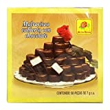 Authentic Sabores - Imported Mexican De la Rosa Chocolate Covered Marshmallows 50ct. With 1ct. Marzipan Chocolate Covered