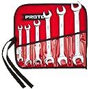 Stanley Proto J30000R 6 Piece Metric Open End Wrench Set