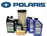 #1: 2015-2017 POLARIS RZR 900/S Complete Service Kit Oil Change Air Filter