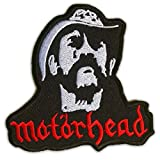 : Motorhead Ian Lemmy Kilmister Patch Rock Heavy Metal Embroidered Iron On Patches