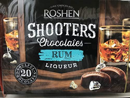 Rum Chocolate - Roshen Shooters Chocolate - Rum (5.3 oz) Ukraine