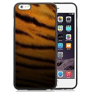 NEW Unique Custom Designed iPhone 6 Plus 5.5 Inch Phone Case With Tiger Skin Pattern_Black Phone Case