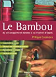 Le bambou, du développement durable à la création d'objets: Comprendre les enjeux - Découvrir des propriétés étonnantes - Apprendre les techniques - Fabriquer soi-même