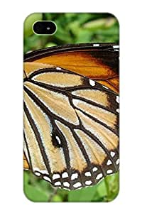 Christmas Day's Gift- New Arrival Cover Case With Nice Design For Iphone 4/4s- Animal Butterfly Deer