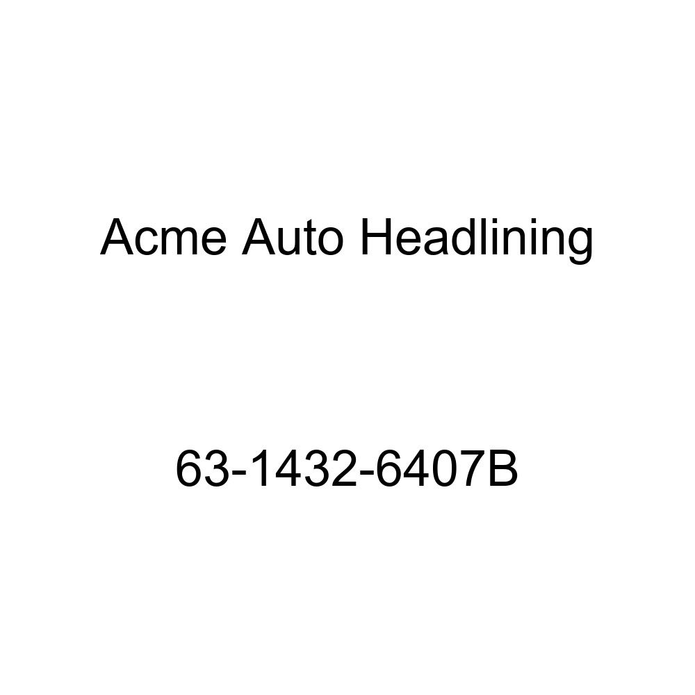 Acme Auto Headlining 63-1432-6407B Fawn Replacement Headliner Chevrolet Chevy II 2 Door Hardtop 5 Bow