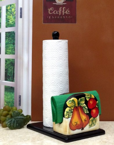 Winter Fruit Paper Towel and Napkin