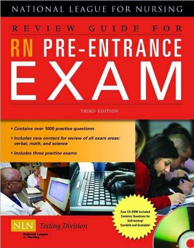 Read Online ReviewGuide forRN Pre-Entrance Exam(text only)3rd(Third)edition byNational League forNursing(NLN) pdf epub