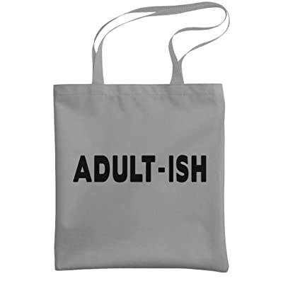 - ADULT-ISH - sarcastic funny joke gag - Heavy Duty Tote Bag