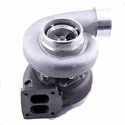 GOWE Turbocompresor para Universal GT45 GT45R Turbo T4 T66 Wet flotador a/R. A