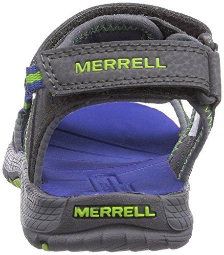 Merrell Panther - Sandalias deportivas de sintético para niño Blau (Grey/Blue)