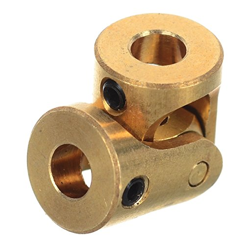 IDS Home Mini 33mm Brass U-Joint Shaft Coupling Motor Connector Universal Joint for RC Boat / - Rc Boat Universal Joint