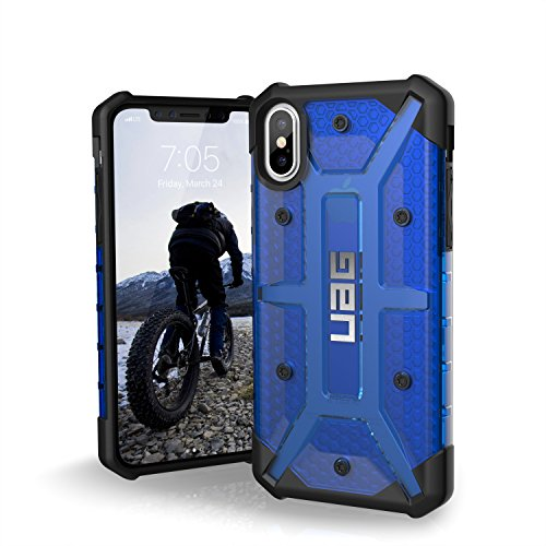 UAG iPhone X Plasma Feather-Light Rugged [COBALT] Military Drop Tested iPhone Case
