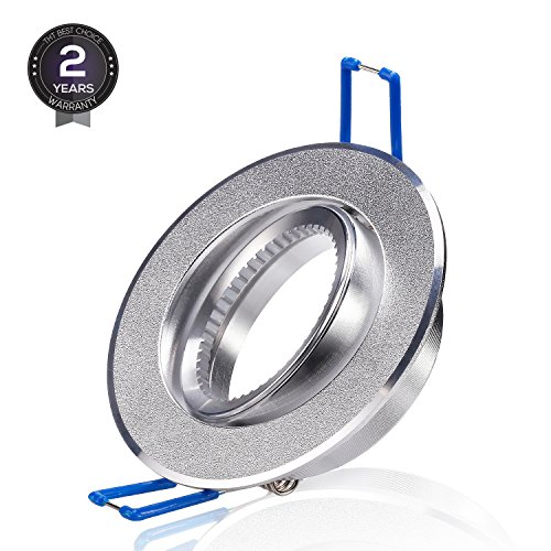 TORCHSTAR Mounting Bracket for Recessed Light, Bulb Holder for Recessed Lighting Kit for MR16, Light Fitting for MR16 Spotlight with GU10 GU5.3 Base, 2 Years (Included Downlight Kit)