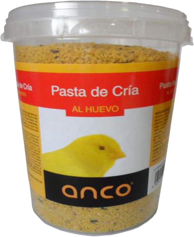 ANCO Pasta de Cria con Huevo y Miel para Pajaros, (900 gr)