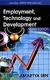 Employment, Technology and Development 9780195651102