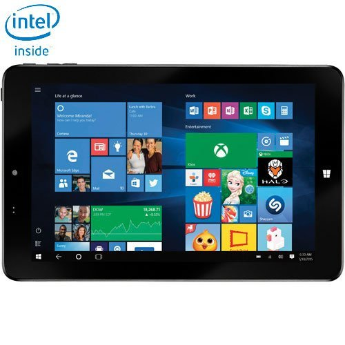 Exceptional Insignia 8u0026#x2033; 32GB Windows 10 Tablet With Intel Z3735F Dual Core  Processor   Black: Amazon.ca: Computers U0026 Tablets