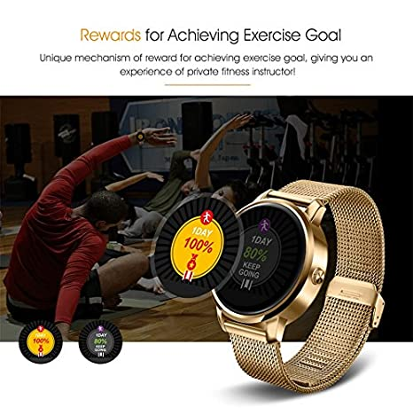 Heart Rate Monitor, Smart Watch F1 2.5d Curved Surface ...