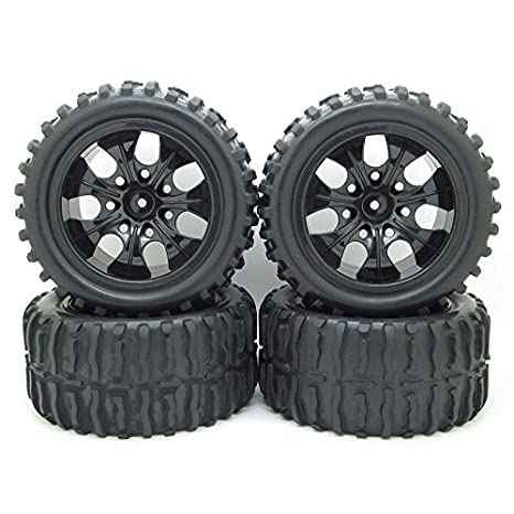 1/10 Red Mesh On Road Wheels And Tires Toys & Hobbies
