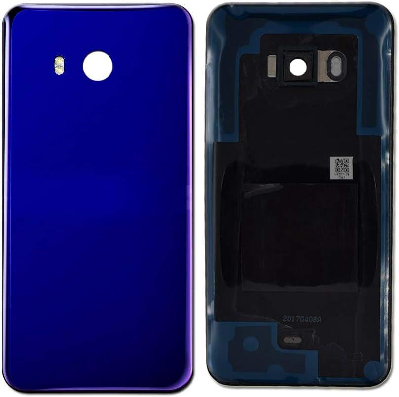 Tapa trasera para celular HTC U11 azul