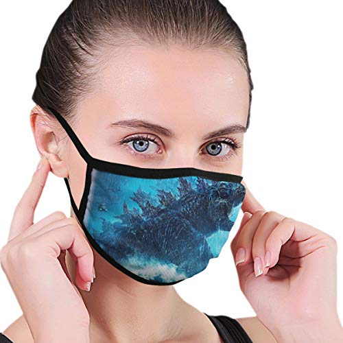 Dean Carnegie God-Zia Face Mask Adjustable Mouth Mask Anti Dust Face Mouth Mask Reusable Mask for Cycling Camping Travel