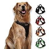 Dog Harness, Easy Walk No Pull Front Range Reflective Adjustable Dog Vest