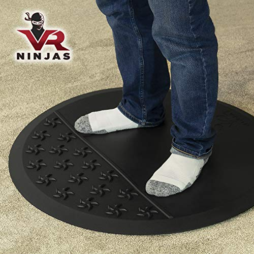 VR Ninjas Virtual Reality Mat for Position Orienting | VR Accessory | Braille for Your Feet! | Improve Your Game…