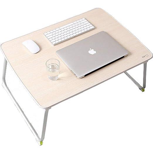 Gjrff Mesa Plegable Escritorio portátil portátil de pie Plegable ...