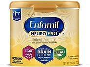 Enfamil NeuroPro Baby Formula Milk Powder Reusable Tub, 20.7 oz -Brain Building Nutrition Inspired by Breast M