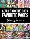 Adult Coloring Book: Favorite Pages | 50 Premium