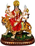 Durga Ma Statue India Figurine Goddess Idol 6""