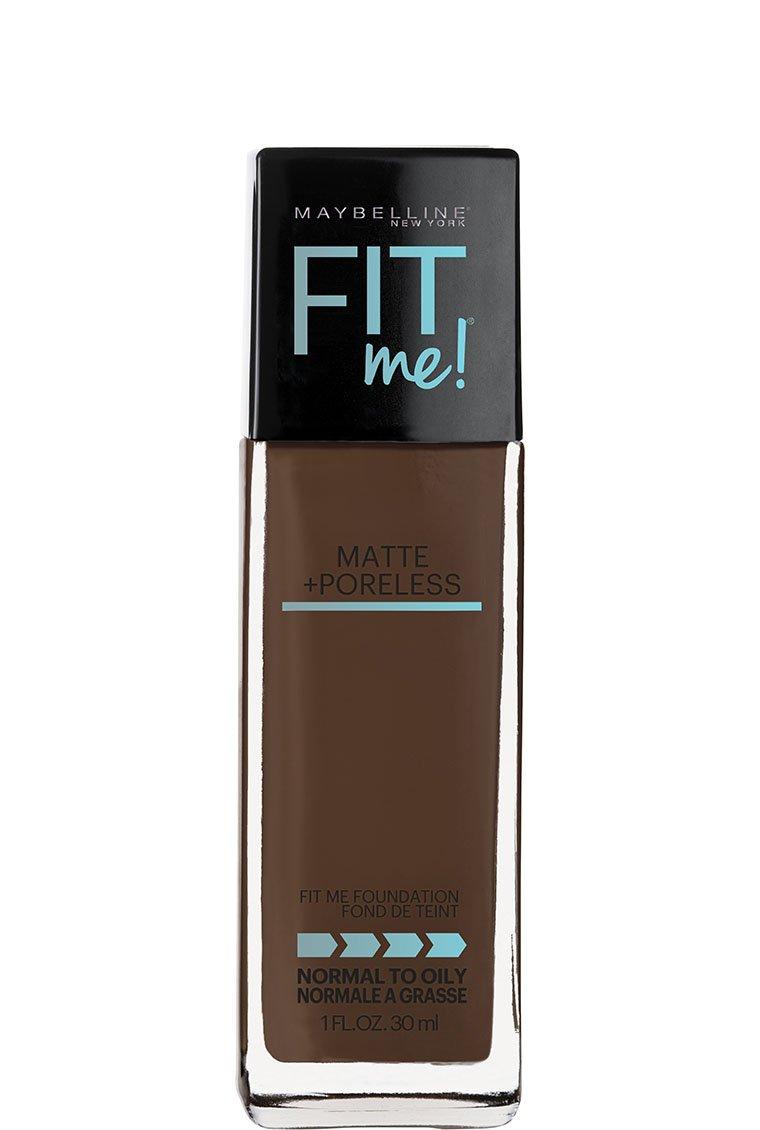Maybelline New York Fit Me Matte + Poreless Liquid Foundation Makeup, Golden, 1 fl. oz.