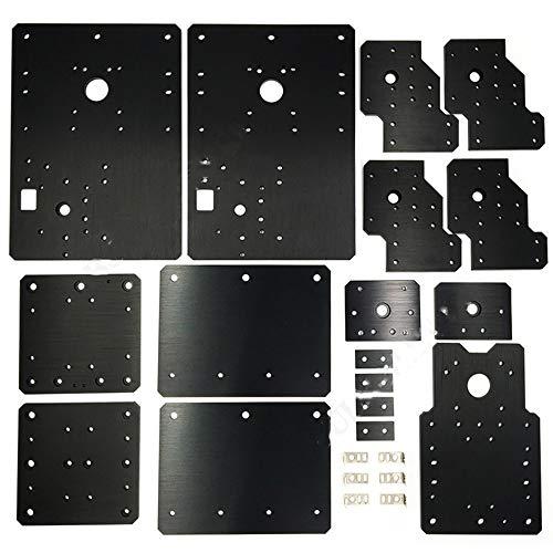 Price comparison product image WorkBee CNC Aluminiumplatten kit,  führen Schraube angetrieben und Gürtel Version für WorkBee CNC Router Maschine,  CNC Graviermaschine