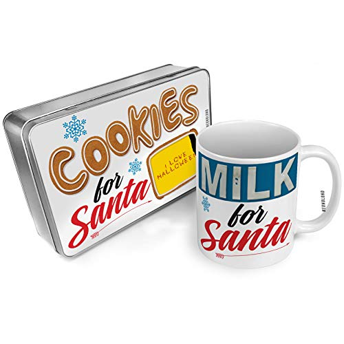 NEONBLOND Cookies and Milk for Santa Set I