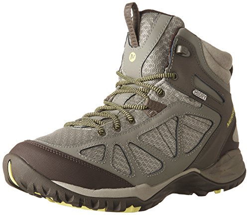 Merrell Women's Siren Sport Q2 Mid Waterproof, Dusty Olive, 7.5 W ()