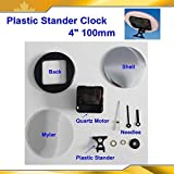 4'' 100mm 50sets Clock Plastic Stander for Button Maker Machine Supplies 015590