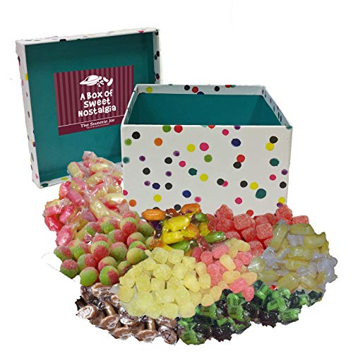 Boiled Sweets Gift Box – A Fantastic Gift for Him, for Her, for Everyone! (Happy Christmas)